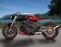 Remo Concept - Café Racer Steel & Wood (2014)