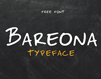 BAREONA - FREE HANDWRITTEN DISPLAY TYPEFACE