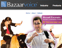 Bazaarvoice - Culture page redesign