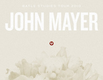 John Mayer Battle Studies Winter Tour