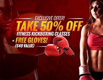 Martial Arts Regular Offer Facebook Ads