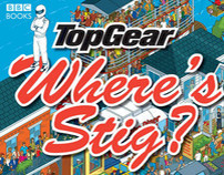 Top Gear Where's Stig? Illustrated Book