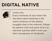 Digital Native vs Digital Immigrant Tshirts