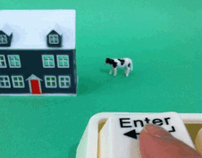 GIF Animation: Enter - Forced Bovine Entry Device