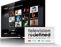 Sony TV Category Landing Page