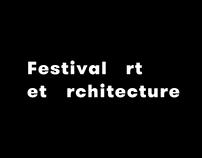 Festival art et architecture