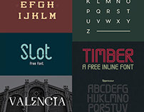 30 Free Cool Fonts For Designers – Feb 2015 Edition
