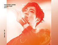 "KIM HYUN JOONG 2017 JPN tour ""INNERCORE"""