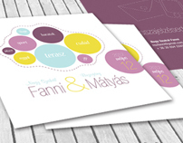Fanni and Matyas - wedding invitation