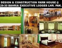 FARM HOUSE ON 2-ACRES.BAHRIA EXECUTIVE LODGES 2005 LHR.