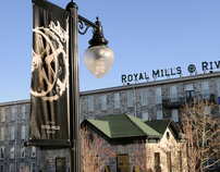 Royal Mills Lightpole Signs