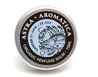 Zodiac Perfume Balm Branding