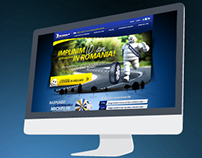 "Michelin ""10 Years in Romania"" website"