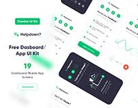 Freebie UI Kit Dashbaord/App