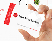 First Swiss Voucher - Logo & Web Design