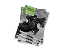 Equestrian – A4 Horse Club Brochure