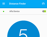 Distance Finder - Android App