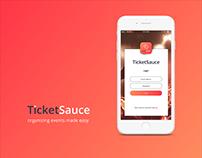 UI design - TicketSauce