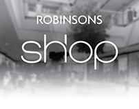 Robinsons Shop card design