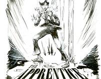 The Apprentice Comic Cover Design