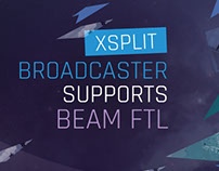 XSplit Broadcaster supports Beam