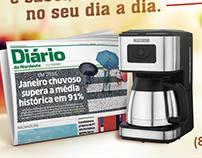 Diário do Nordeste | Anúncio Jornal + Cafeteira