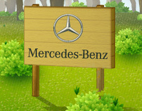 Mercedes 125.Years (Star) Forest FB App