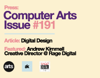 AK Press: Computer Arts Issue #191 | Digital Design