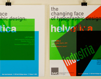 'The Changing Face of Typographic Design' Series
