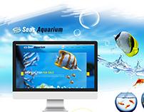 Fish Shop Website Templat