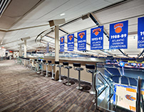 MSG In-Arena Championship Banners