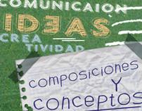 composiciones y conceptos, DIVERSOS