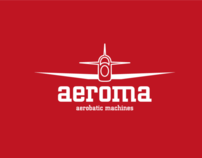 Aeroma - Visual identity, website, logo