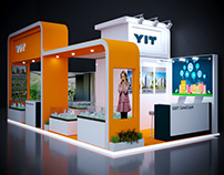 YIT R.Estate company booth