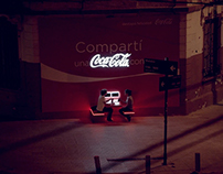 COCA COLA - Sharing Billboard
