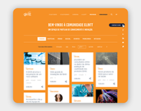 GLINTT - website webdesign