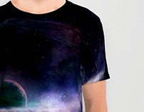 AndroMEdas. A glass of space : t-shirt
