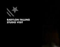 Babylon Falling Studio Visits