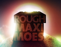 Rough & Maximoes Logo + Visual and Break apart