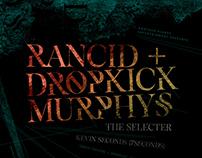 Rancid + Dropkick Murphys