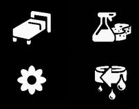 Electrolux Washing Machine Icons