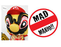 MAD MARIO! Custom Munny Project