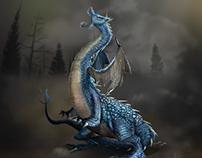 Book cover - As regras do dragão