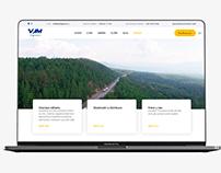 VJM Group - Website for the Transportation Company