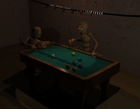 Animación juego de billar