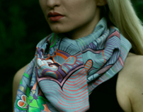 Unique hand made scarves