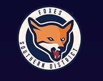 FOXES - Team Logo Design