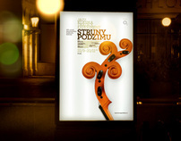 Strings of Autumn - visual identity & campaign