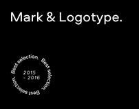 A selection of best marks and logos for 2015-2016 years