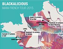 Infographie artiste tournée française